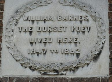 William Barnes Plaque