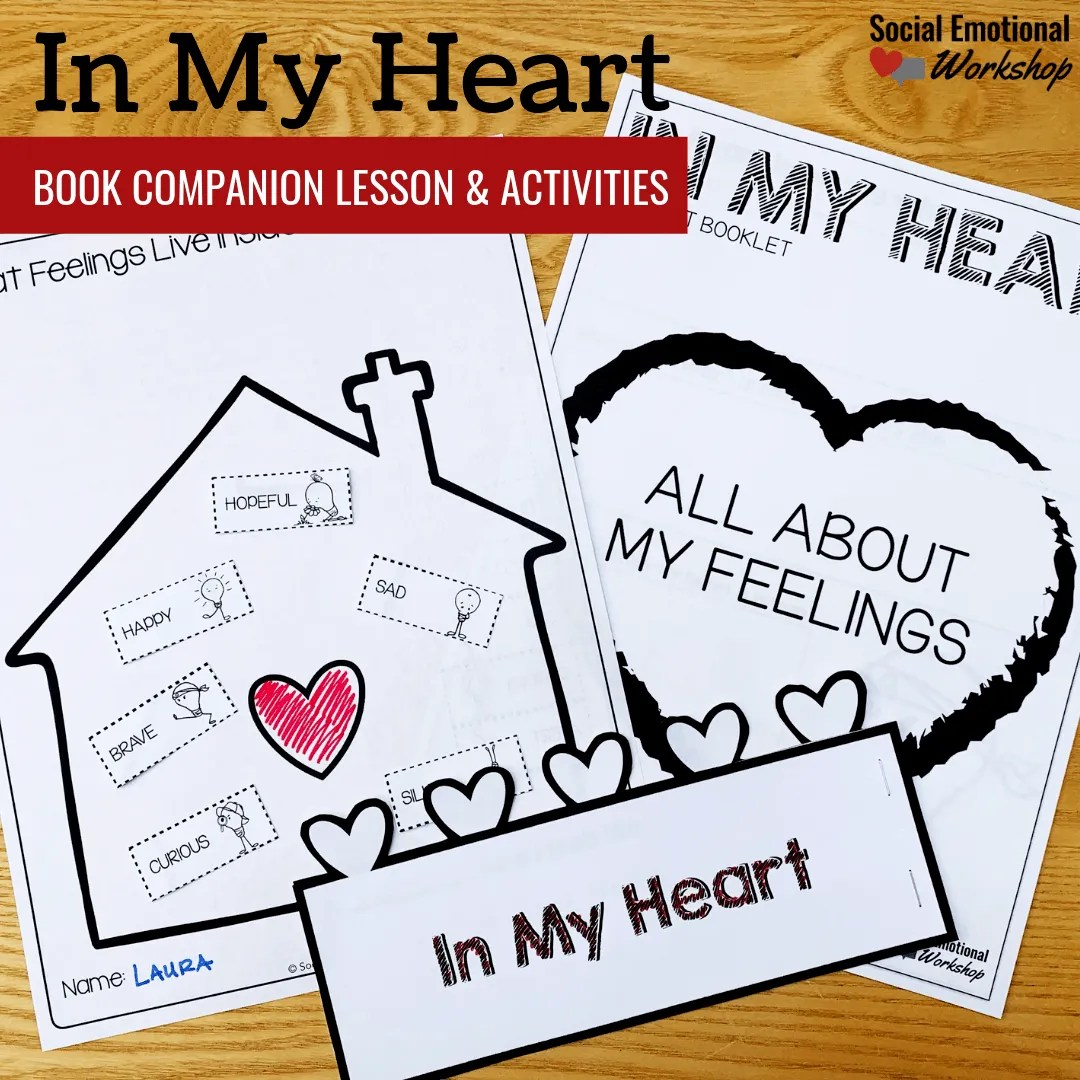 In My Heart Book Companion Activities