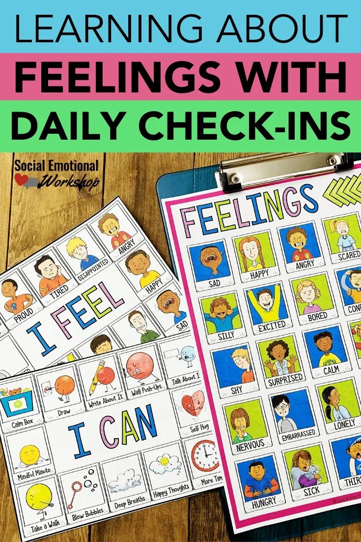 Using daily check-ins to help students understand their feelings
