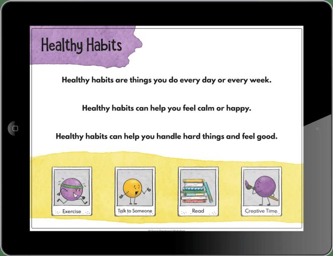 Healthy Habits Activity
