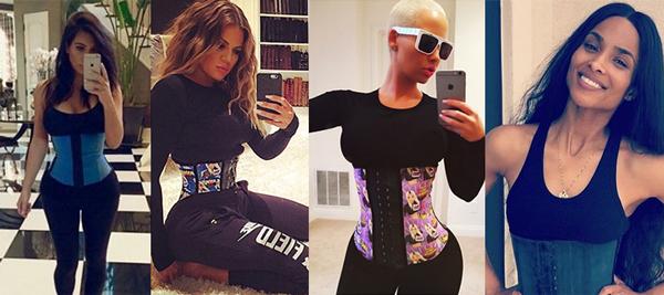 Kim Kardashian, Khloe Kardashian, Amber Rose and Ciara