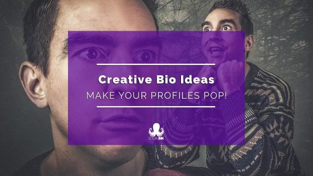 Creative Bio Examples: Make Your Social Media Profiles Pop!