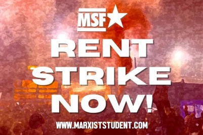 Rent Strike Now MSF