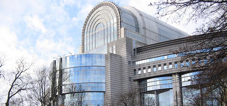 Sede del Parlamento Europeo en Bruselas