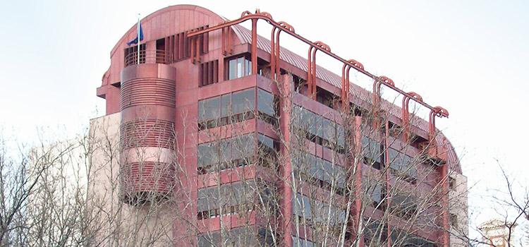 Sede del Parlamento Europeo en Madrid