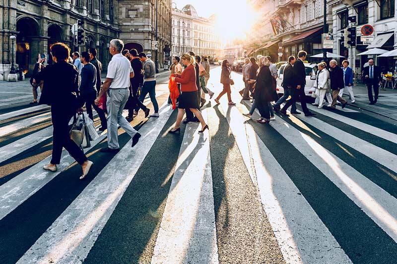 Ciudad - Paso de peatones