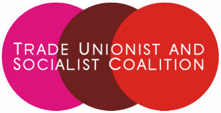 The Socialist Party is standing under the banner of the Trade Unionist and Socialist Coalition