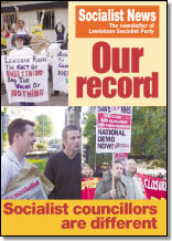 Lewisham Socialist News - Our record