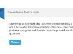 Come fare il backup dei tweet su Twitter