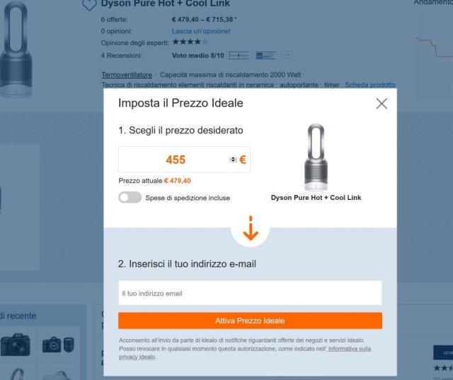 andamento prezzi amazon - iDealo