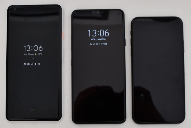Pixel_LG_iPhone - recensione lg g7 thinq