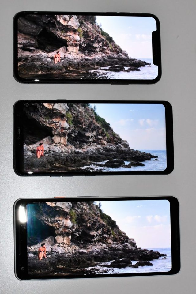 display - recensione lg g7 thinq