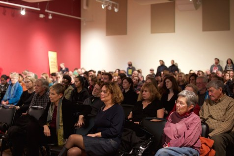 Sold-out screening of Whose Streets? (Photo by Alexis Wood) — with Whose Streets? at Northwest African American Museum.