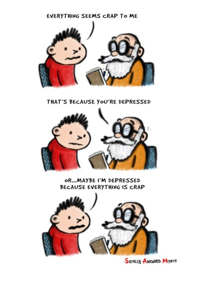 everything is crap comic strip