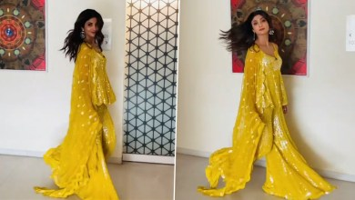 Shilpa Shetty Dons Traditional Ensemble, Treats Fans With a Stunning Video – WATCH