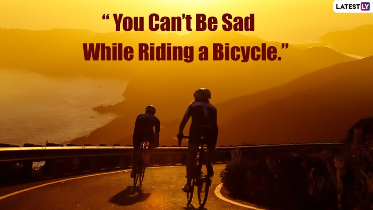 World Bicycle Day Quotes 6