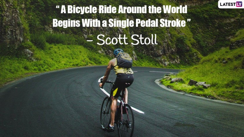World Bicycle Day 2021: Quotes That Will Inspire You Peddle Into an Environmentally Sustainable Future