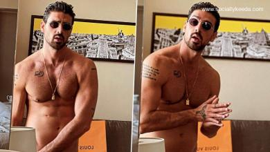 365 Days Star Michele Morrone Treats Fans With His Sexy Shirtless Photos