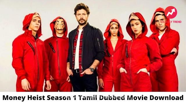 Money Heist Season 5 Leaked on Telegram for Download Link in Hindi Dubbed in 720p & 480p along with Tamilrockers, Movierulz, Filmyzilla