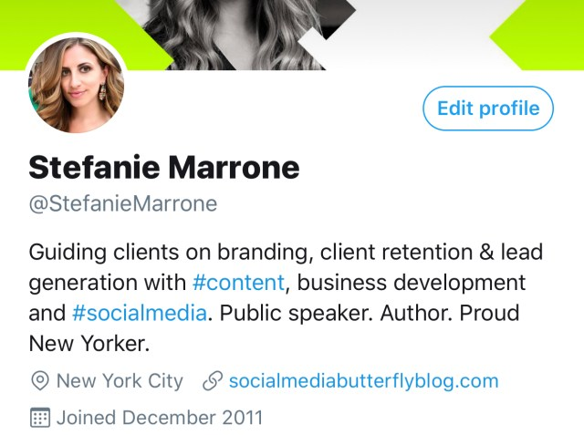 How to Write a Great Social Media Bio - The Social Media Butterfly