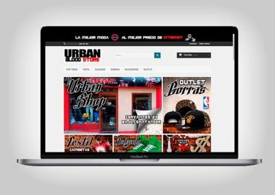 Tienda Online Urban Blood Store