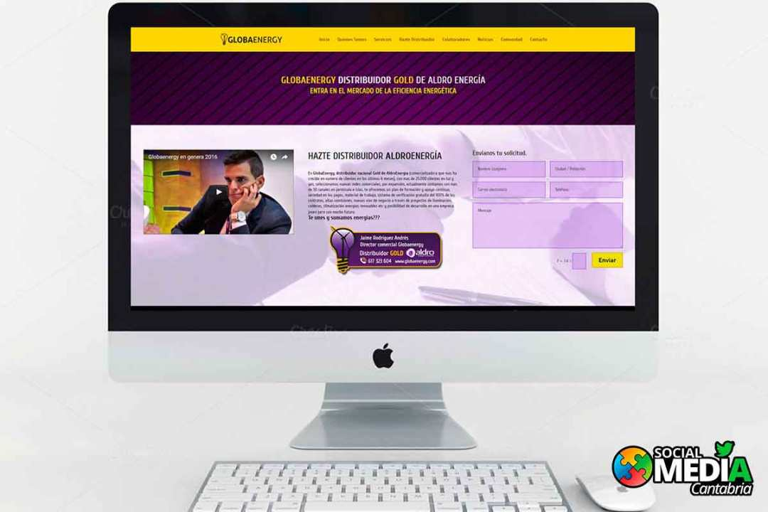 Landing-Page-Globaenergy---Social-Media-Cantabria