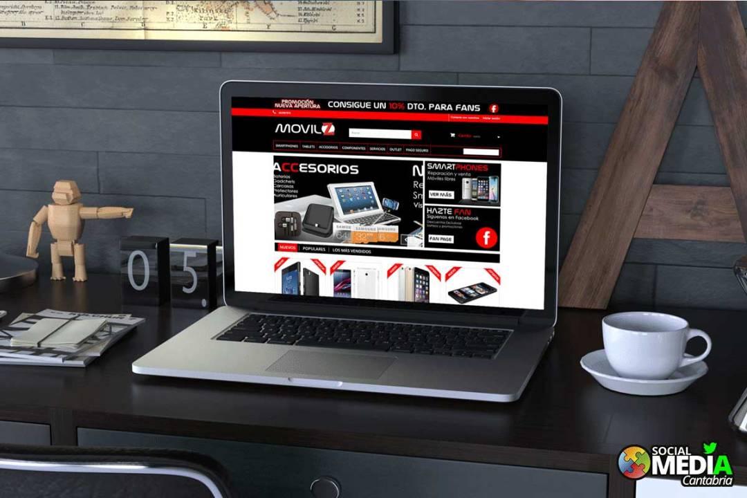 Tienda online en Cantabria Movil Zeta