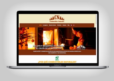 Web Combustibles Naturales