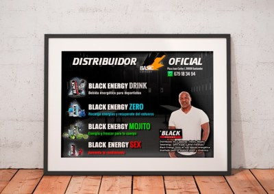 Diseños Black Energy Drink