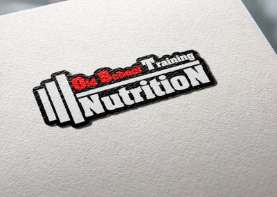 Logotipo Old School Nutrition