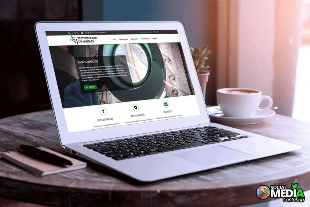 web agm restaurador de muebles