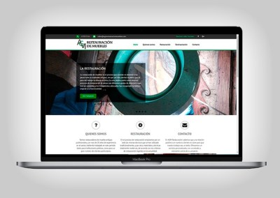 Web AGM Restauración