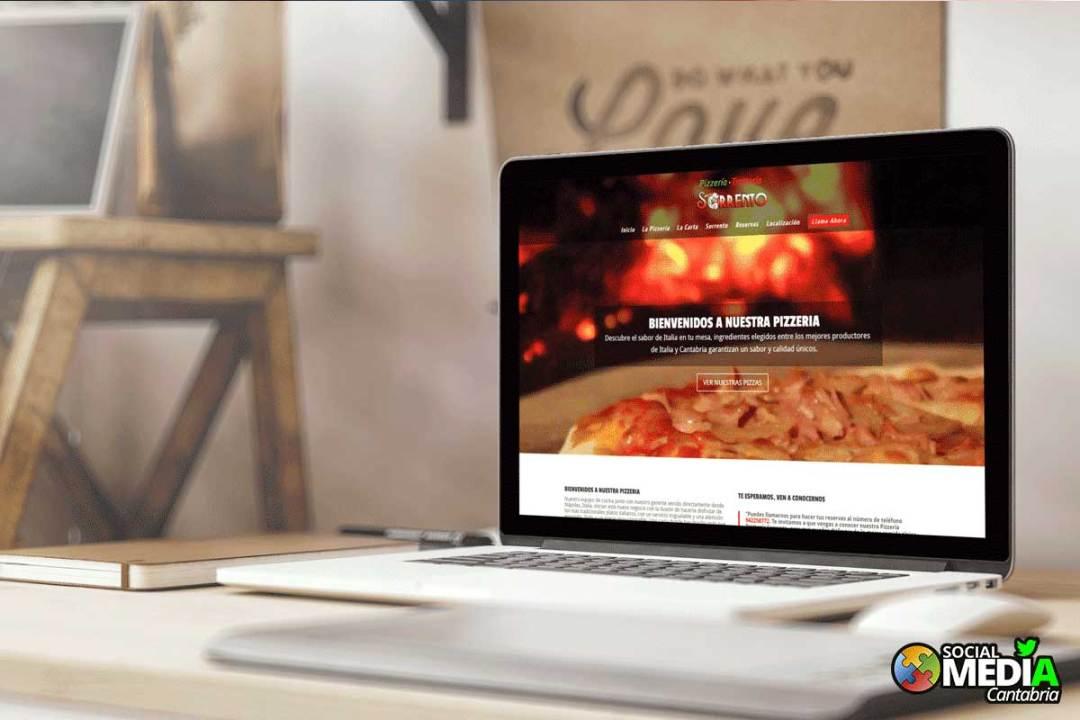 Migracion a web responsive para la Pizzeria Trattoria Sorrento