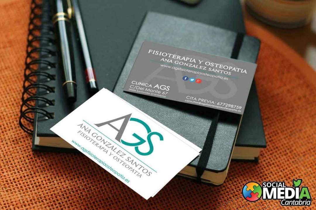 AGS-fisioterapia---Diseno-tarjetas-de-visita-Social-Media-Cantabria