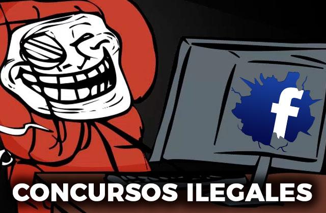 Sorteos y concursos FALSOS en Facebook