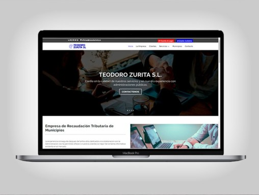 Web Teodoro Zurita S.L.