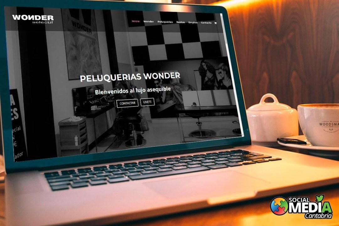 diseño web en cantabria wonder selectif