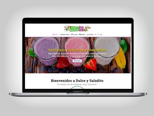 Web Dulce y Saladito