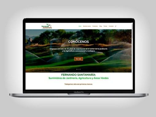 Web Fernando Santamaría