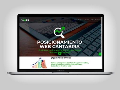 Web Posicionamiento Web Cantabria
