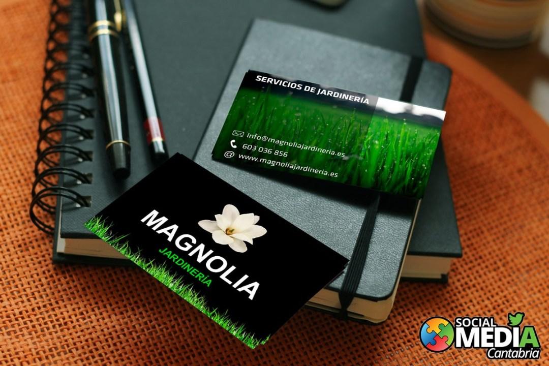 Jardineria-Magnolia-Diseno-Tarjeta-de-Visita