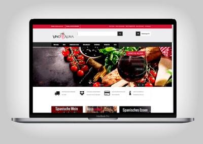 Tienda Online Vino & Alma