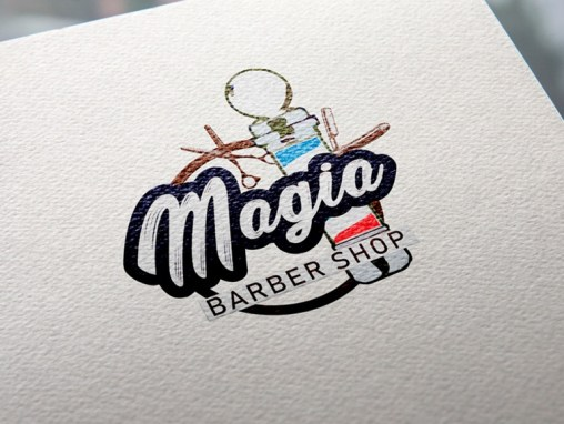 Logotipo Magia Barber Shop