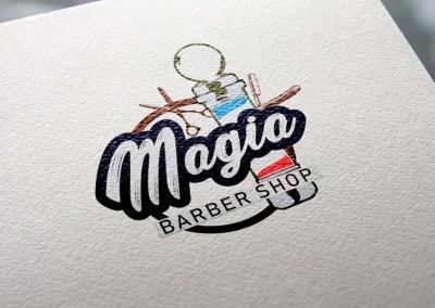 Logotipo Magia Barber Shop