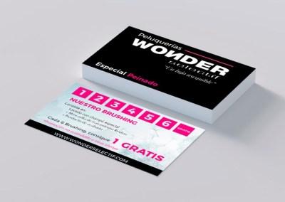 Tarjetas Wonder Selectif