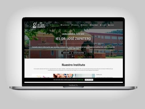 Web IES José Zapatero