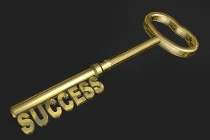 sleutel woorden voor succes