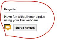 start a hangout
