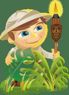 Scout mascot for Social Media Examiner