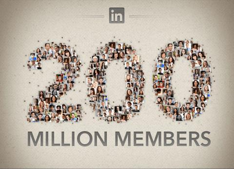 Linkedin 200 Millionen